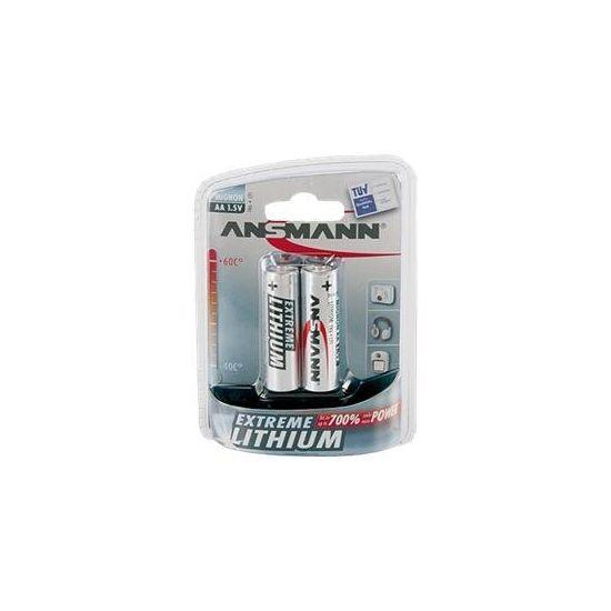 ANSMANN Mignon Extreme Lithium - batteri - AA - Li x 2