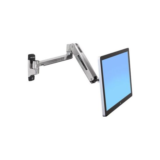 Ergotron LX HD Sit-Stand Wall Mount LCD Arm - vægmontering