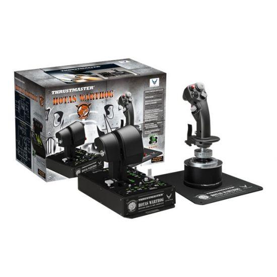 Thrustmaster HOTAS Warthog - Joystick og speeder