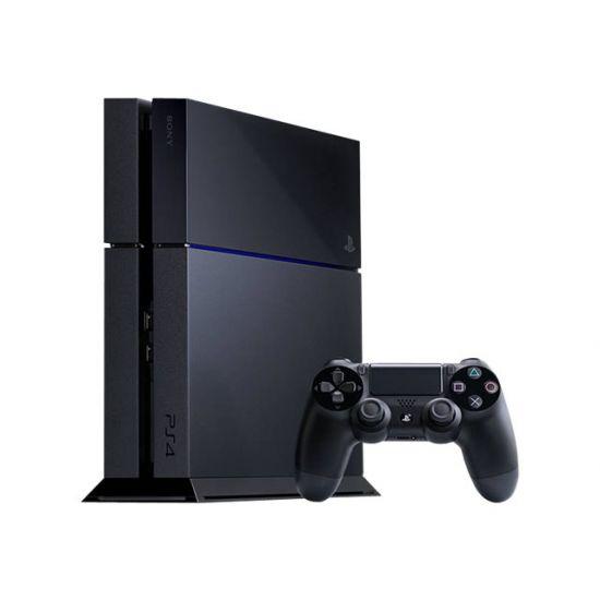 Sony PlayStation 4 - Spilkonsol - 500 GB HDD - jet black