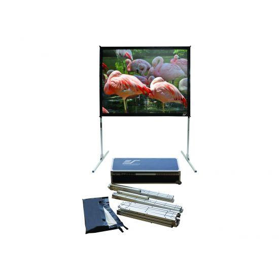 Elite Screens QuickStand Series Q100V1 - projektor skærm med ben - 100 tommer (254 cm)