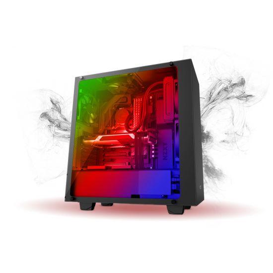 Føniks Valkyrie III Færdigsamlet Gamer Computer - Intel i7 8700 - Vandkøling - 16GB DDR4 - Nvidia GTX 1080 8GB - 500GB NVMe SSD + 2TB HDD - Windows 10 - RGB lys