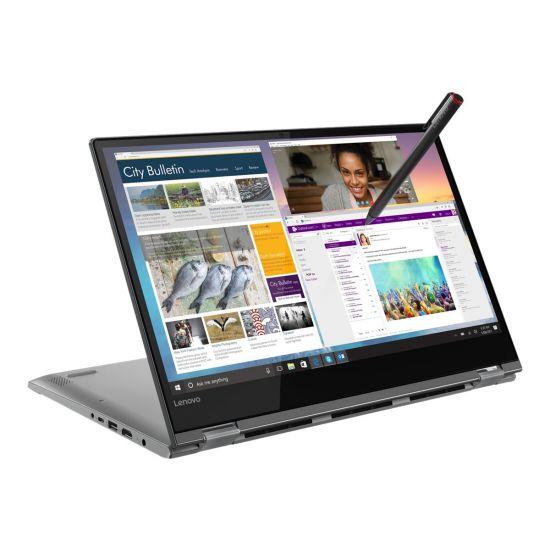 """Lenovo Yoga 530-14IKB 81EK - Intel Core i5 (8. Gen) 8250U / 1.6 GHz - 8GB DDR4 - 256GB NVMe SSD - 14"""" IPS Sort (Digitizer og pen)"""