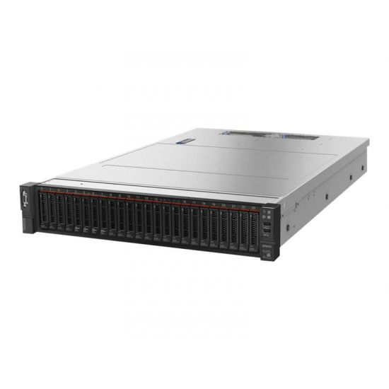Lenovo ThinkSystem SR650 - rack-monterbar - Xeon Gold 6142 2.6 GHz - 32 GB - 0 GB