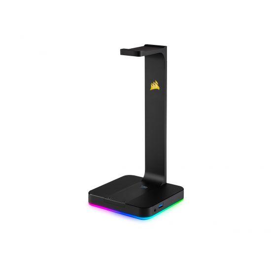 CORSAIR Gaming ST100 RGB Premium Headset Stand - lydkort