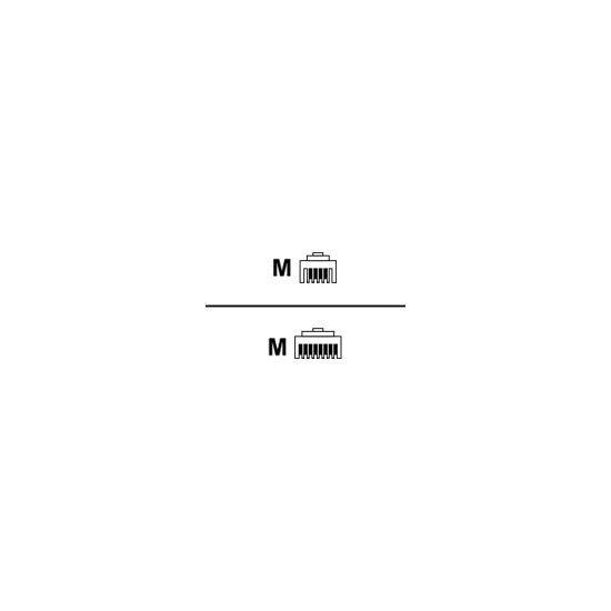 MicroConnect netværkskabel - 3 m - hvid