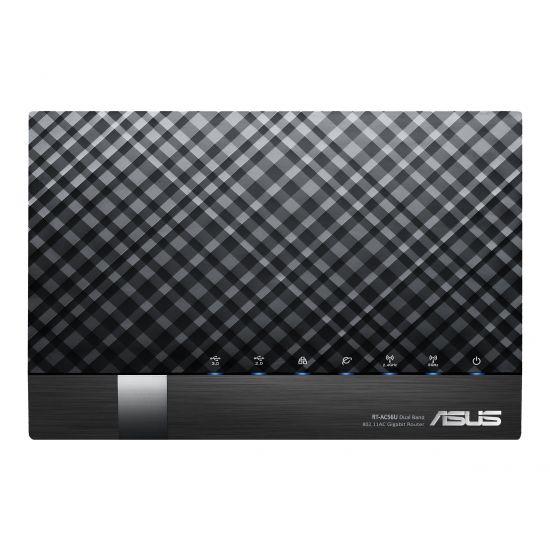 ASUS RT-AC56U - trådløs router - 802.11a/b/g/n/ac - desktop