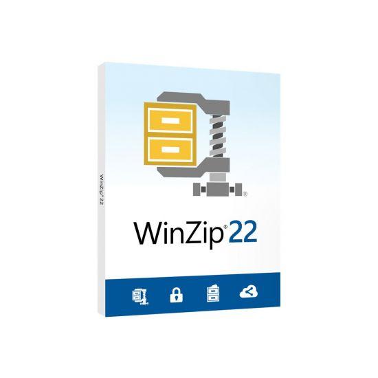 WinZip Standard (v. 22) - bokspakke - 1 bruger