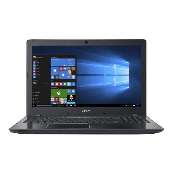 Acer Aspire E 15 E5-575G-70ES - 8GB Core i7 GTX950M 512GB SSD 15.6´´ Full HD sort Gamer bærbar