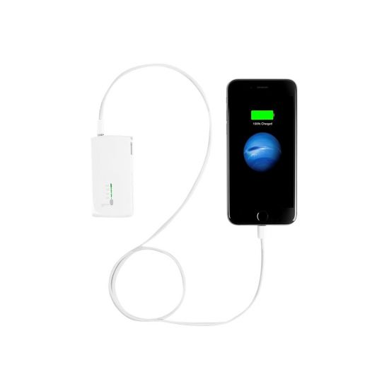 Targus 2-in-1 USB Wall Charger & Power Bank - strømbank/strømadapter