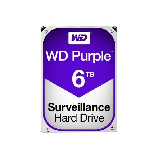 WD Purple Surveillance Hard Drive WD60PURZ &#45 6TB - SATA 6 Gb/s