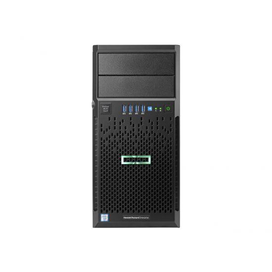HPE ProLiant ML30 Gen9 Entry - tower - Xeon E3-1220V6 3 GHz - 8 GB - 0 GB