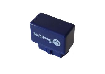 MobileScan Android OBD adapter, Bluetooth, diagnostisk interface