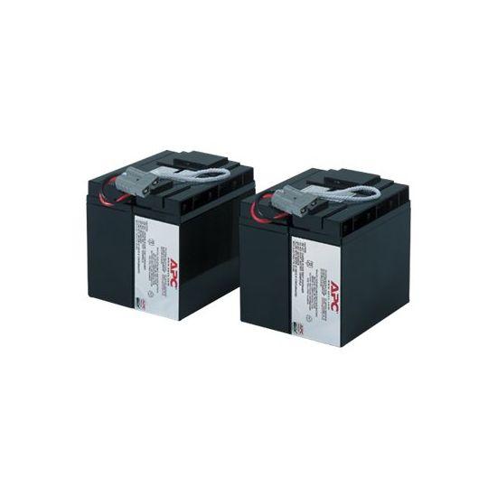 APC Replacement Battery Cartridge #55 - UPS-batteri - Blysyre