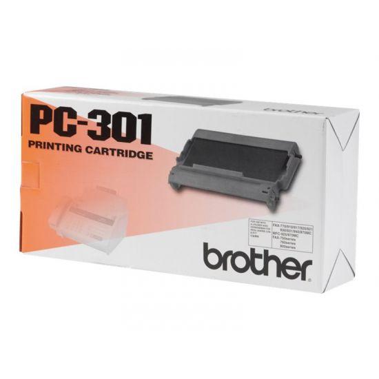 Brother PC301 - 1 - sort - print-bånd
