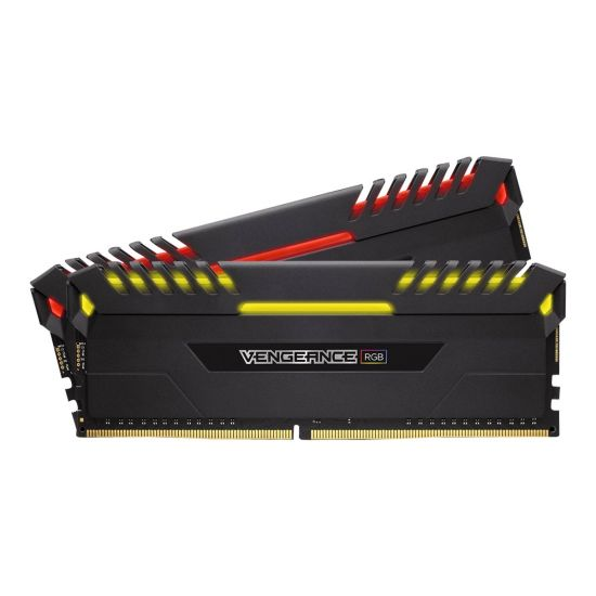 Corsair Vengeance RGB &#45 16GB: 2x8GB &#45 DDR4 &#45 3000MHz &#45 DIMM 288-PIN - CL15
