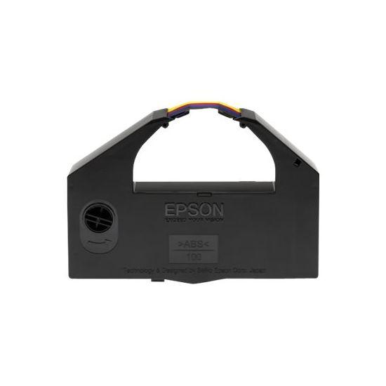 Epson - 1 - farve (cyan, magenta, gul, sort) - tekstilbånd for printer