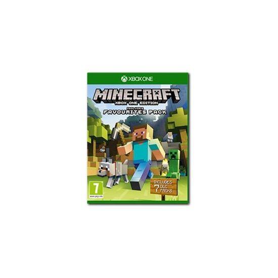 Minecraft Favorites Pack - Microsoft Xbox One
