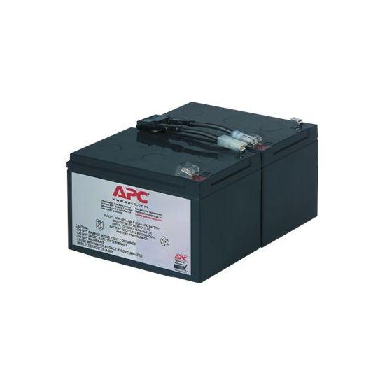 APC Replacement Battery Cartridge #6 - UPS-batteri - Blysyre