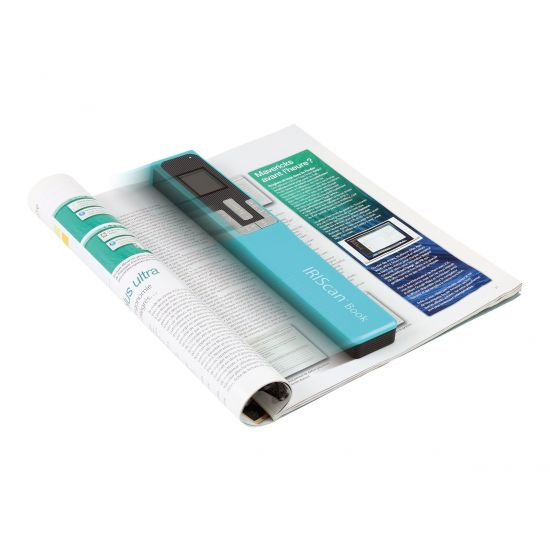 IRIS IRIScan Book 5 - håndholdt scanner - bærbar - USB