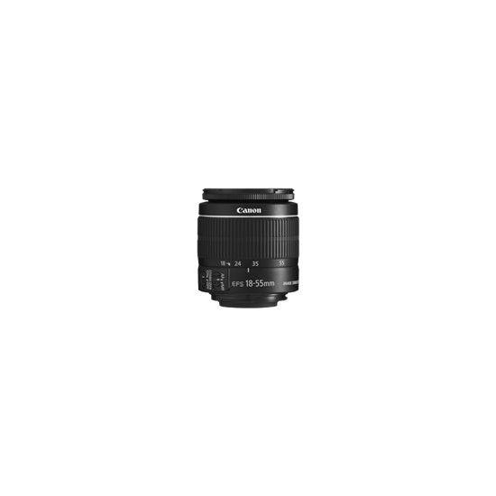 Canon EF-S zoomobjektiv - 18 mm - 55 mm