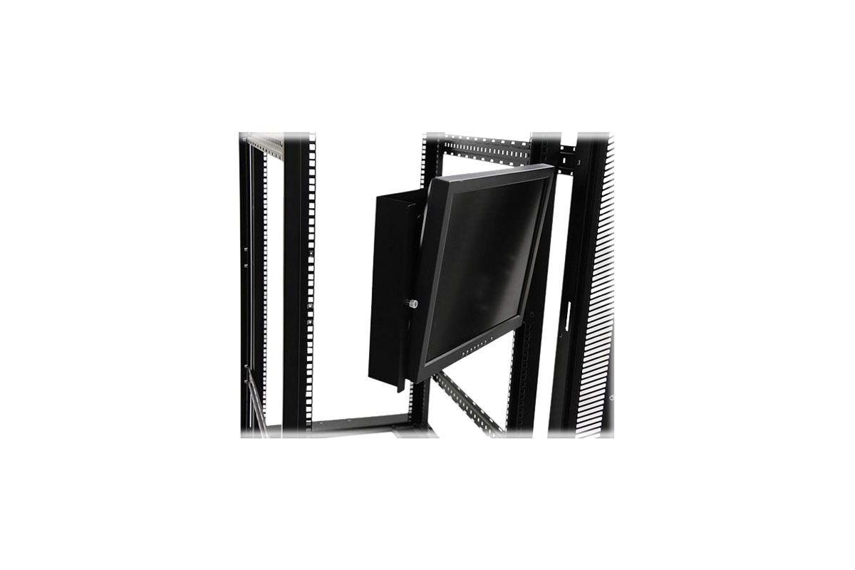 StarTech.com Universal Swivel VESA LCD Monitor Mounting Bracket for 19in Rack or Cabinet