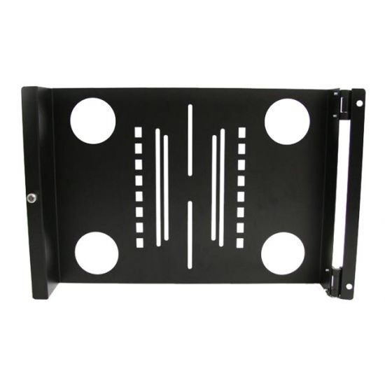 StarTech.com Universal Swivel VESA LCD Monitor Mounting Bracket for 19in Rack or Cabinet