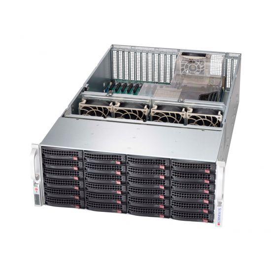 Supermicro SC846 XE1C-R1K23B - rackversion - 4U - udvidet ATX