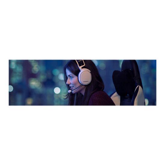 SteelSeries Arctis 7 - headset - hvid