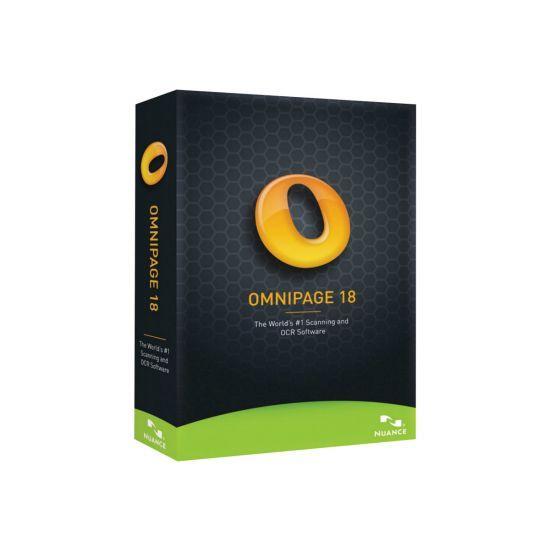 OmniPage (v. 18) - bokspakke - 1 bruger