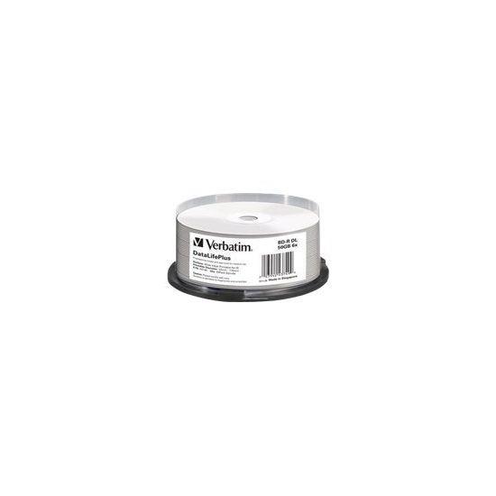 Verbatim DataLifePlus - BD-R DL x 25 - 50 GB - lagringsmedie