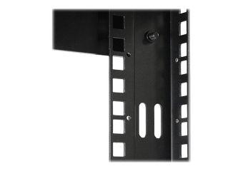StarTech.com 8U Open Frame Wall Mount Equipment Rack
