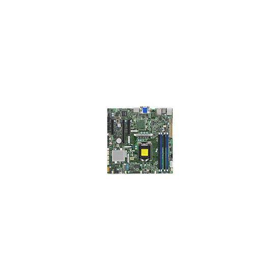 SUPERMICRO X11SSZ-F - bundkort - micro-ATX - LGA1151 Socket - C236