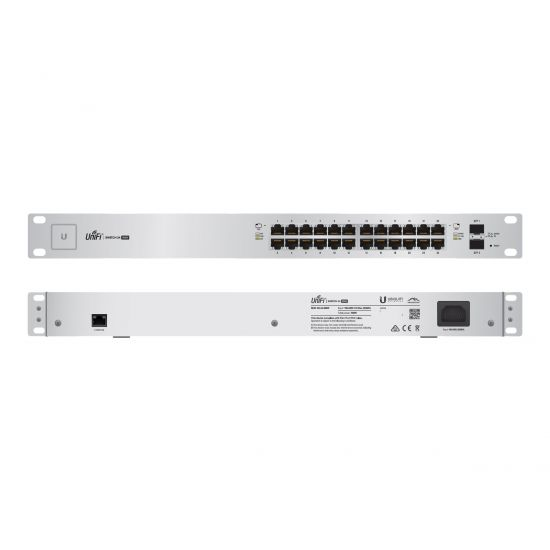 Ubiquiti UniFi Switch US-24-500W - switch - 24 porte - Administreret - monterbar på stativ