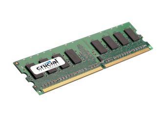 Crucial &#45 1GB &#45 DDR2 &#45 800MHz &#45 DIMM 240-pin