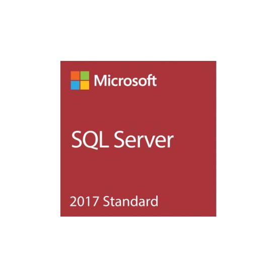 Microsoft SQL Server 2017 Standard - bokspakke - 1 server, 10 klienter