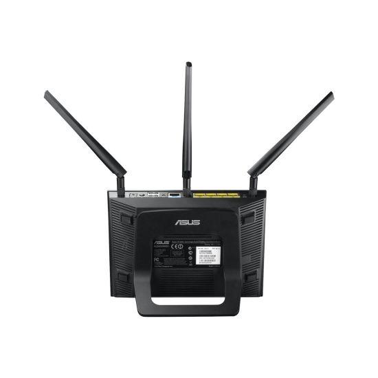 ASUS RT-N66U - trådløs router - 802.11a/b/g/n - desktop