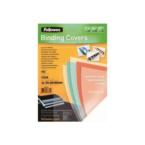 Fellowes - 100 stk. - PVC-indbindingsomslag