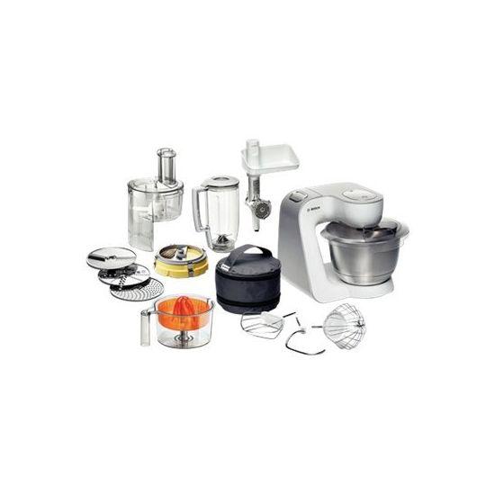 Bosch Styline MUM54251 - køkkenmaskine - 900 W - hvid/sølv