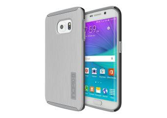 Incipio DualPro SHINE Dual Layer Protection with Brushed Aluminum Finish bagomslag til mobiltelefon