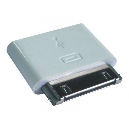 Sandberg - 5 pin Micro-USB Type B Hun 30pin-tilslutning Han Hvid