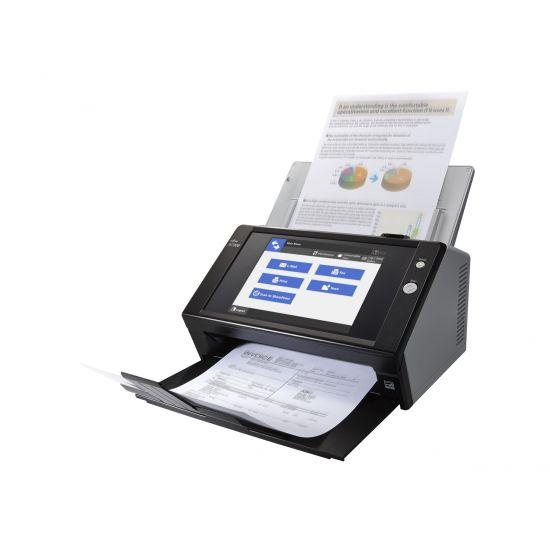 Fujitsu Network Scanner N7100 - dokumentscanner - desktopmodel - Gigabit LAN