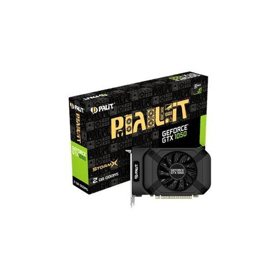 Palit GeForce GTX 1050 StormX &#45 NVIDIA GTX1050 &#45 2GB GDDR5 - PCI Express 3.0 x16