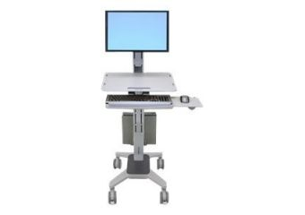 Ergotron WorkFit C-Mod Single Display Sit-Stand Workstation
