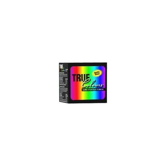 Zebra TrueColours - sort, gul, cyan, magenta, gennemsigtig - print-bånd