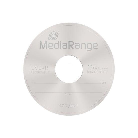 MediaRange - DVD+R x 5 - 4.7 GB - lagringsmedie
