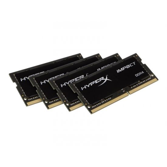 HyperX Impact &#45 64GB: 4x16GB &#45 DDR4 &#45 2133MHz &#45 SO DIMM 260-PIN - CL14