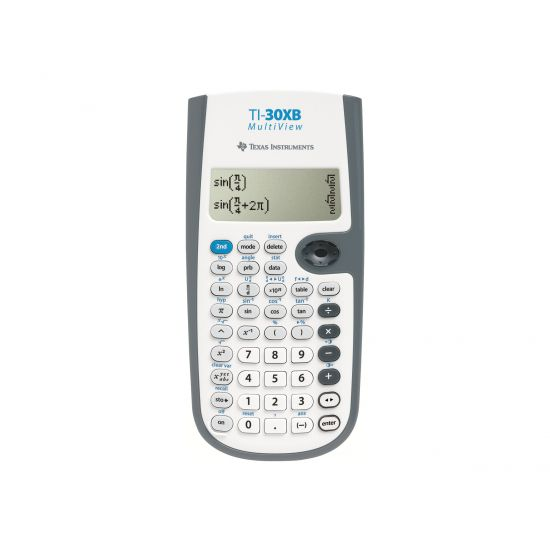 Texas Instruments TI-30XB MultiView - videnskabelig regnemaskine