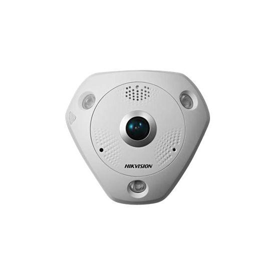 Hikvision 12MP Fisheye Network Camera DS-2CD63C2F-I - netværksovervågningskamera