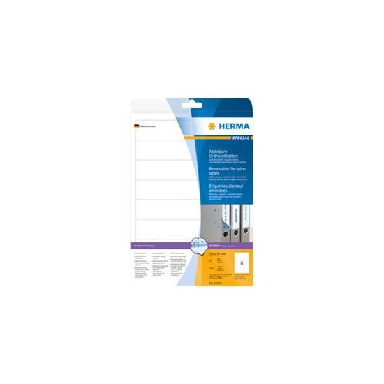 HERMA Special - opaque file folder labels - 200 etikette(r)